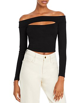 FORE - Off The Shoulder Cutout Top
