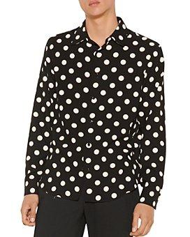 Sandro - Dots Polka Dot Shirt