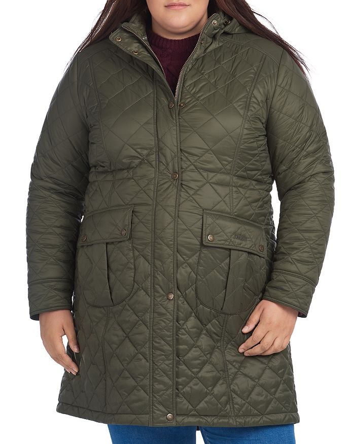 Barbour - Jenkins Quilted Hooded Coat