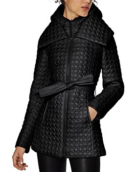 Dawn Levy - Morgan Belted Quilted Coat