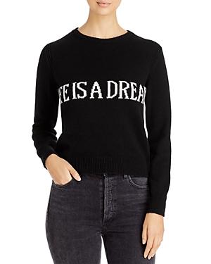 Alberta Ferretti Cashmere Message Sweater-Women