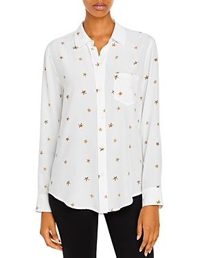 Rails Kate Printed Silk Shirt-Women