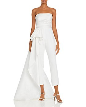 leva Svuota il cestino Proverbio  Shop White Elegant Jumpsuits and Rompers | Bloomingdale's
