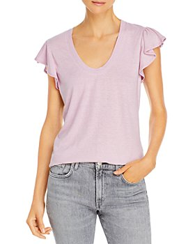 Rebecca Taylor - Flutter Sleeve Tee