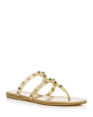 Valentino Garavani Women\\\'s Studded Thong Sandals