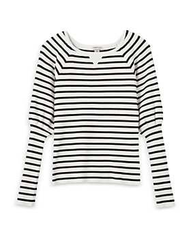 Habitual Kids - Girls' Puff Sleeve Ribbed Sweater - Big Kid