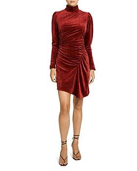 A.L.C. - Marcel Ruched Asymmetric Dress