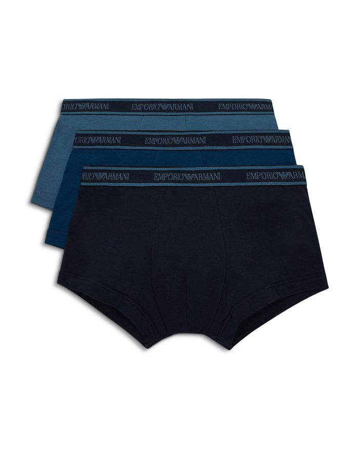 Armani - Core Logo Trunks - Pack of 3