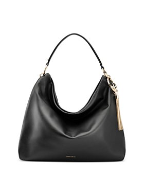 Jimmy Choo - Callie Large Leather Shoulder Bag