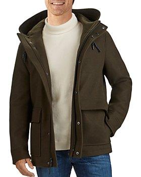Cole Haan - Stretch Waterproof Hooded Jacket