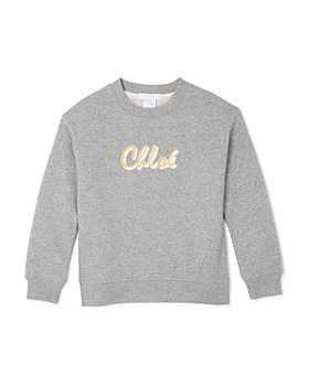 Chloé - Girls' Glitter Logo Sweatshirt - Big Kid