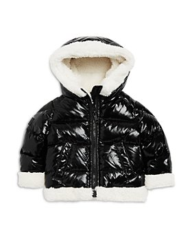 SAM. - Girls' Hooded Faux Fur Trim Down Jacket - Baby