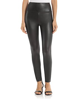 BAGATELLE.NYC - High-Rise Faux Leather Leggings