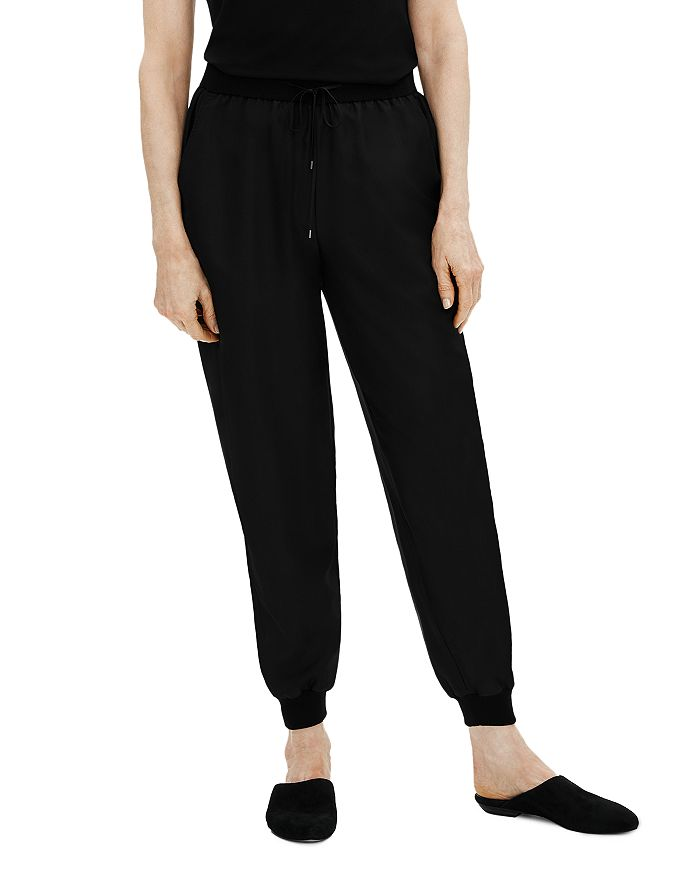 Eileen Fisher Petites - Silk Jogger Pants