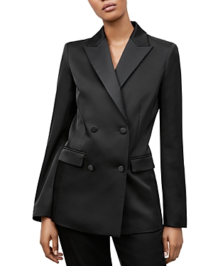 Lafayette 148 HOLTON DOUBLE BREASTED BLAZER