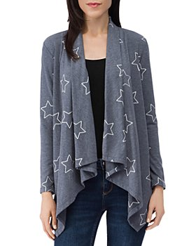 B Collection by Bobeau - Amie French Terry Cardigan