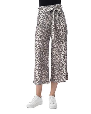 Doris Cropped Printed Pants