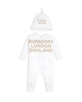Burberry - Unisex Cleo Footie & Hat Gift Set - Baby