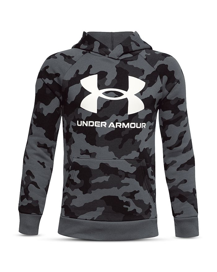 Under Armour - Boys' Rival Camo Print Hooded Fleece - Big Kid