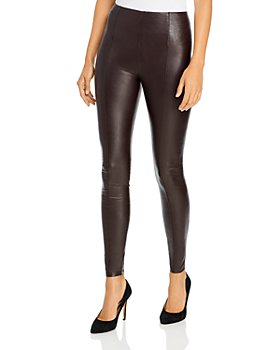 Lyssé - Textured Faux Leather Leggings