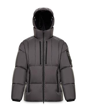 Moncler Arachon Hooded Down Jacket