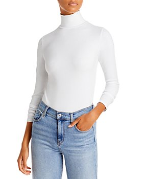 7 For All Mankind - Ribbed Turtleneck Sweater
