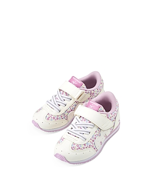 Miki House Girls' Printed Sneakers Toddler, Little Kid