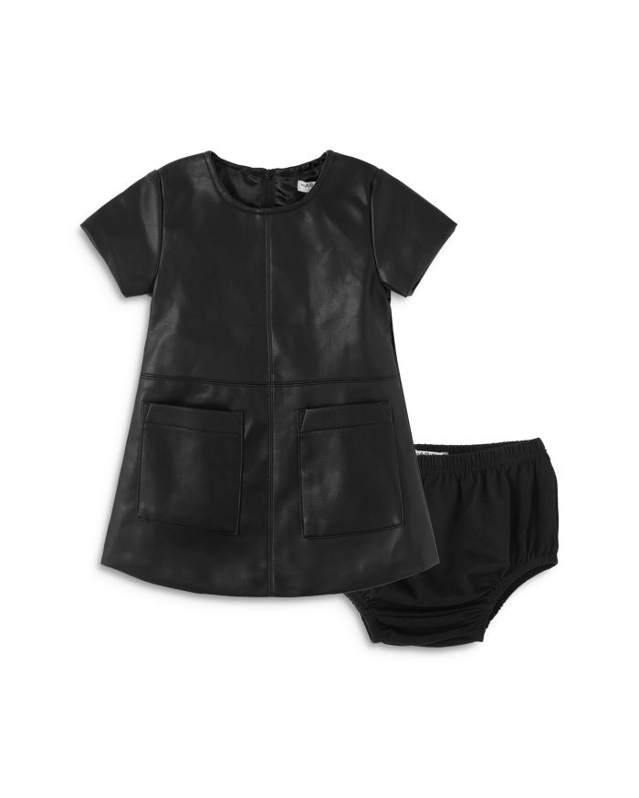Habitual Kids Girls' Maeson Faux Leather Dress - Baby  | Bloomingdale's