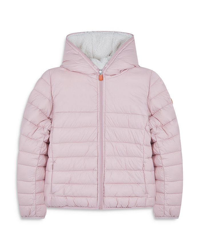 Save The Duck - Girls' Hooded Jacket - Little Kid, Big Kid