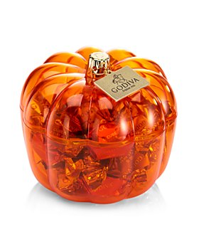 Godiva® - Pumpkin Candy Jar and Candy