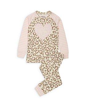 Hatley - Girls' Leopard Print Cotton Pajamas - Little Kid, Big Kid