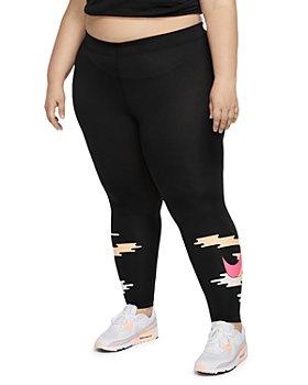 Nike Plus - Plus Size Graphic Print Leggings