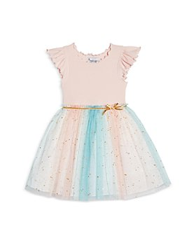 Pippa & Julie - Girls' Star Print Tutu Dress - Little Kid
