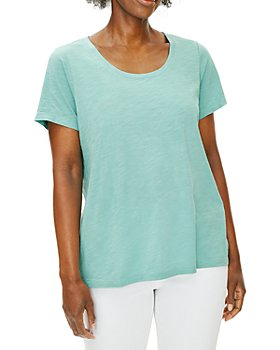 Eileen Fisher Petites - U Neck Tee