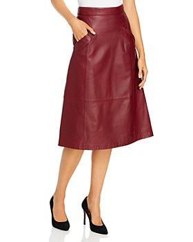 Kobi Halperin - Emmy Leather Skirt