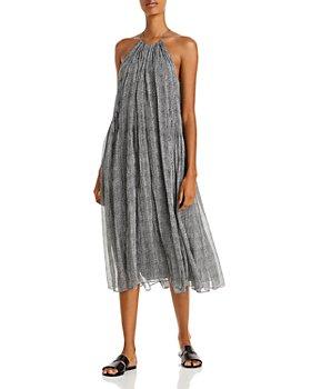 rag & bone - Melody Printed Halter Midi Dress