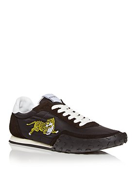 Kenzo - Men's Tiger Embroidered Low Top Sneakers