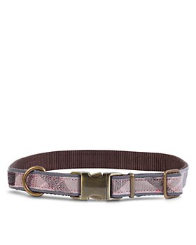 Barbour - Reflective Tartan Dog Collar