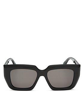 Bottega Veneta - Women's Square Sunglasses, 52mm