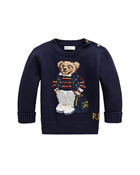 Ralph Lauren - Boys' Polo Bear Sweater - Baby