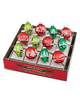 Christopher Radko - Holiday Splendor Ornaments, Set of 6