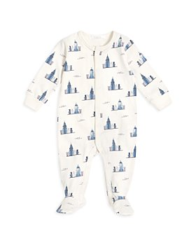 FIRSTS by petit lem - Boys' New York Skyline Footie - Baby