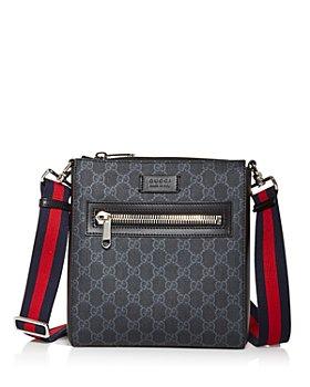 Gucci - GG Supreme Black Small Messenger Bag