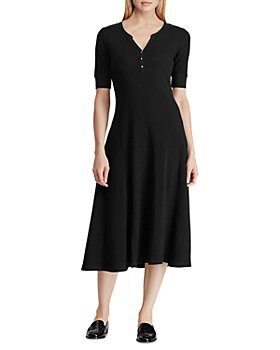 Ralph Lauren - Henley Fit-and-Flare Dress