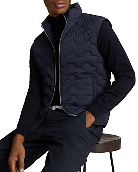 REISS - Erin Quilted Funnel Neck Gilet