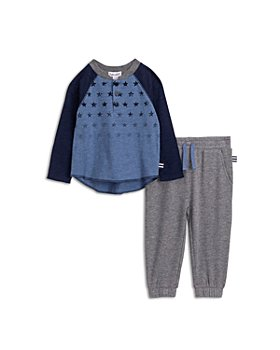 Splendid - Boys' Henley Top & Jogger Pants Set - Baby