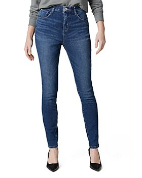 JAG Jeans - High Rise Cecilia Skinny Jeans in Tribeca Blue
