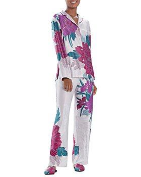Natori - Floral Print Pajama Set