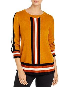 KARL LAGERFELD PARIS - Striped Pullover Sweater