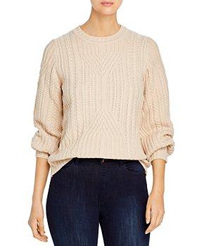 KARL LAGERFELD PARIS - Textured Knit Sweater